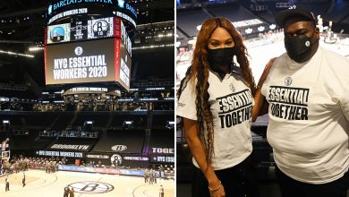 'This is amazing': Brooklyn Nets honor essential workers at NBA tip-off