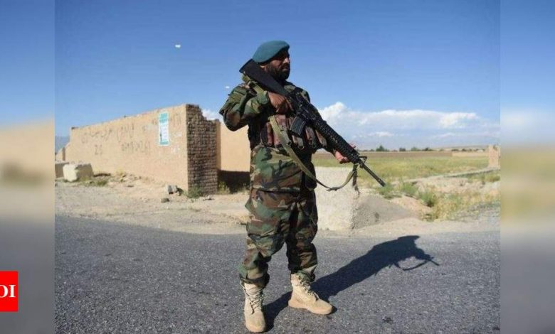 10 Afghan security force personnel killed in Taliban attack in Kunduz - Times of India