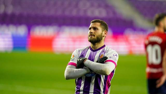 LaLiga: Shon Weissman nets first goals for Real Valladolid to guide them past struggling Osasuna