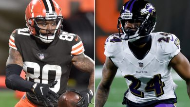Jarvis Landry calls Marcus Peters a 'coward' after spitting controversy