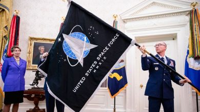 US Space Force Members Get a New Name: 'Guardians'