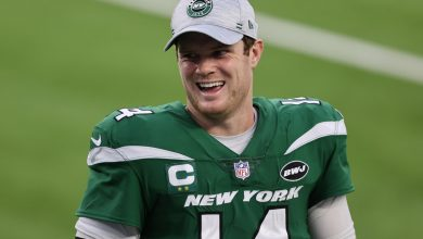 Sam Darnold absolutely thrilled after Jets finally win