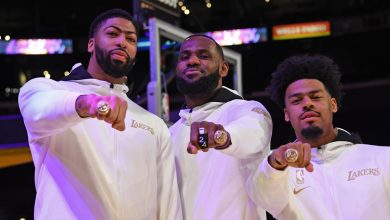 Lakers Championship Rings Pay Tribute to Bryant With Black Mamba Symbol
