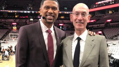 Adam Silver and Jalen Rose talk social justice, NBA's COVID challenges