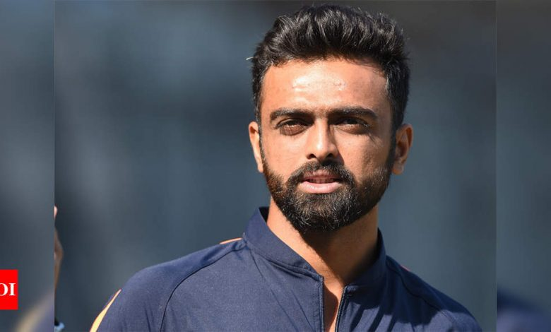 Jaydev Unadkat to lead Saurashtra in Syed Mushtaq Ali Trophy | Cricket News - Times of India