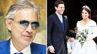 Andrea Bocelli admitted 'trouble during royal wedding performance': 'I did my best!'