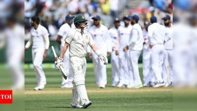 2nd Test: Ricky Ponting slams Australian batsmen for lacking intent against Indian bowlers | Cricket News - Times of India
