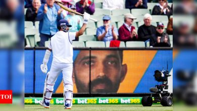 Ajinkya Rahane:  India vs Australia: Still feel the hundred at Lord's is my best, says Ajinkya Rahane after MCG masterclass | Cricket News - Times of India
