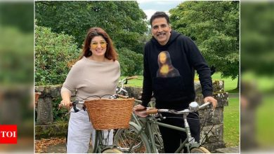 Akshay Kumar pours his heart out as he pens a sweet birthday post for wife Twinkle Khanna - Times of India