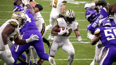 Alvin Kamara ties NFL record with 6 rushing touchdowns in Saints win