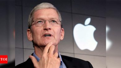 Apple CEO Tim Cook's 'simple' way to find out if you're using your iPhone too much - Times of India