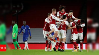 Arsenal sweep aside Chelsea to ease pressure on Mikel Arteta | Football News - Times of India