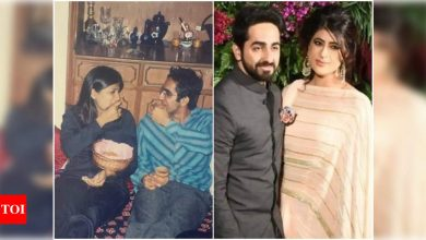 Ayushmann Khurrana's adorable picture with Tahira Kashyap from their teenage days is the perfect nostalgia trip you need - Times of India