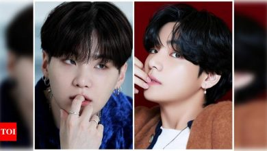 BTS ARMY curious over Suga's return, V aka Taehyung bicep photo goes viral on the internet - Times of India