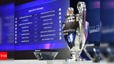 Barcelona to face PSG in Champions League last 16   Football News - Times of India