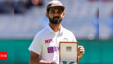Biggest reward is to bring a smile on the faces of Indians: Ajinkya Rahane expresses gratitude to supporters | Cricket News - Times of India