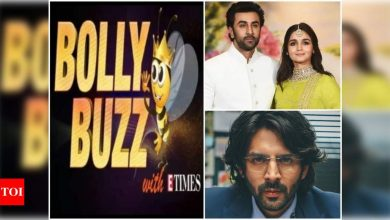 Bolly Buzz: Ranbir Kapoor opens up about his marriage plans with Alia Bhatt, Kartik Aaryan kickstarts shooting for 'Dhamaka' - Times of India ►