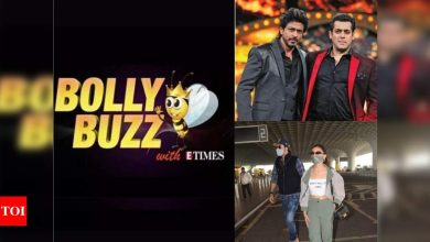 Bolly Buzz: Salman to be seen as an undercover RAW agent in Shah Rukh Khan starrer 'Pathan', Ranbir Kapoor-Alia Bhatt head off to Goa together - Times of India ►
