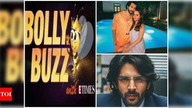 Bolly Buzz: Varun Dhawan addresses his engagement rumours, Kartik Aaryan introduces his character, Arjun Pathak, from 'Dhamaka' - Times of India ►