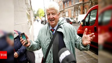 Boris Johnson's father seeks French citizenship - Times of India