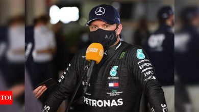Bottas back on top ahead of Hamilton as Mercedes rule in Abu Dhabi GP second practice | Racing News - Times of India