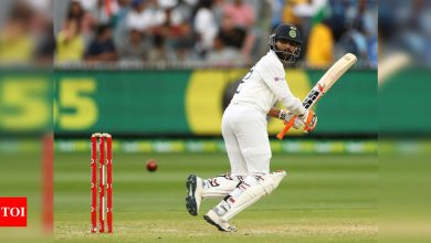 Boxing Day Test: Jadeja's evolution as a Test batsman a big plus for India | Cricket News - Times of India
