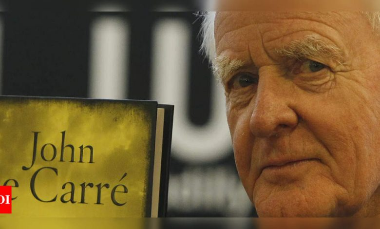 British author John le Carré passes away at 89 - Times of India