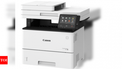 Canon launches iR1643i and iR1643iF A4 monochrome MFDs - Times of India