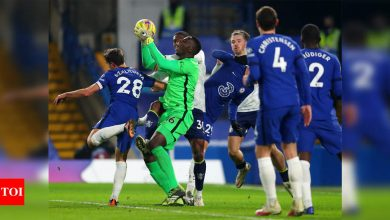 Chelsea, stung by Arsenal defeat, held 1-1 by Aston Villa | Football News - Times of India