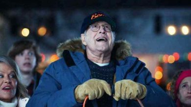 Chevy Chase Recreates 'Christmas Vacation' Scene in New Ford Mustang Mach-E Ad