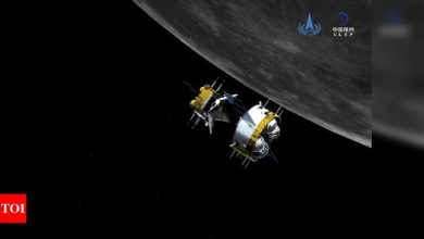 China moon probe begins journey back to Earth - Times of India