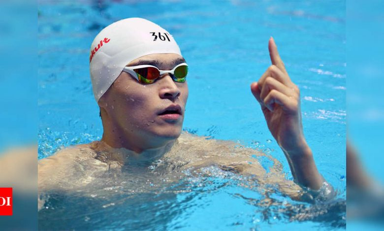 Chinese star swimmer Sun Yang's 8-year doping ban overturned | More sports News - Times of India