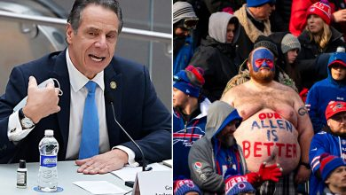 Cuomo announces 6,700 Bills fans can attend playoff game — and he'll be there