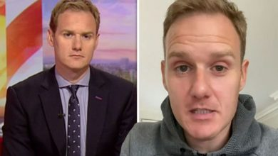 Dan Walker: BBC Breakfast host issues apology after on-air mistake with guest