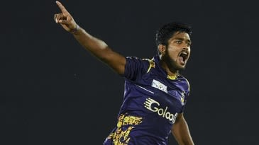Dhananjaya Lakshan's all-round show puts Galle in final