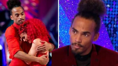 Dianne Buswell left 'shaken' by backstage Strictly accident, admits ex partner Dev Griffin