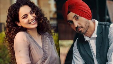 Diljit Dosanjh hits back at Kangana Ranaut