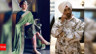 Diljit Dosanjh slams Kangana Ranaut on farmers' protest again: Stop pretending to be an authority on all matters - Times of India ►