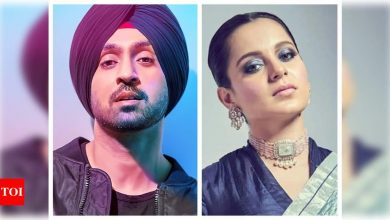 Don't spread hate: Diljit Dosanjh claps back at Kangana Ranaut for her video questioning his intentions on farmer's protest - Times of India