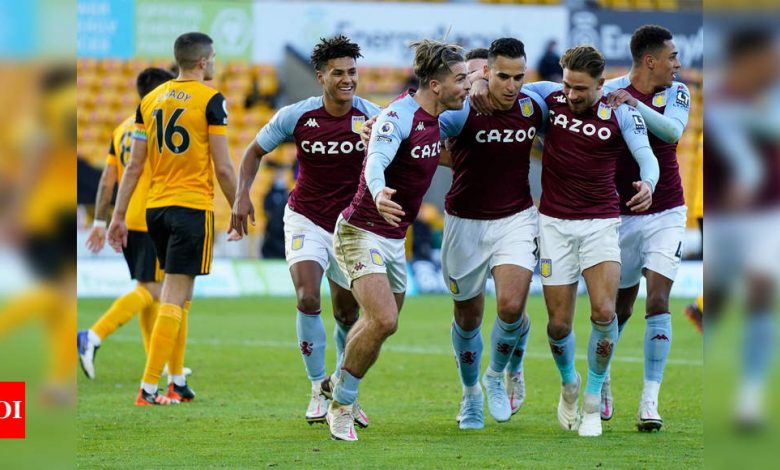 EPL: Aston Villa sink Wolves with late El-Ghazi penalty | Football News - Times of India