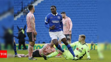 EPL: Sheffield United denied first win as Brighton grab late equaliser | Football News - Times of India