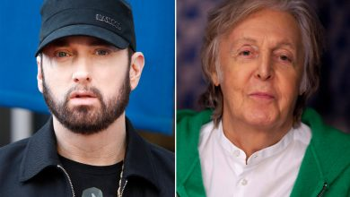 Eminem gives no respect to Paul McCartney with surprise album release