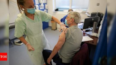 Europe begins vaccine rollout as new Covid variant spreads - Times of India