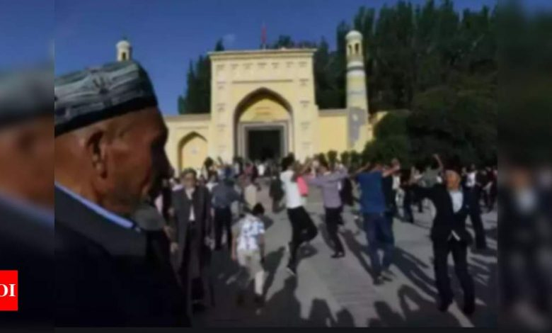 European Parliament asks China to allow UN fact-finding team to visit Xinjiang Uyghur Autonomous region - Times of India