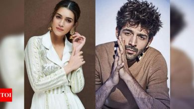 """Exclusive! 'Dhamaka': Kriti Sanon's loss is Kartik Aaryan's gain; """"Actress left without giving a convincing reason"""" - Times of India"""