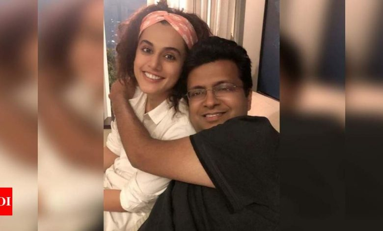 """Exclusive! """"Taapsee Pannu has been in top shape on the sets of 'Looop Lapeta',"""" says producer Tanuj Garg - Times of India"""