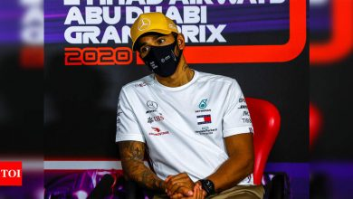 F1: 'Destroyed' by Covid-19 effects, Lewis Hamilton says 'glad race all over' | Racing News - Times of India