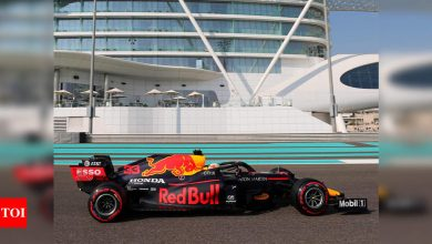 F1: Verstappen on top in final Abu Dhabi practice | Racing News - Times of India
