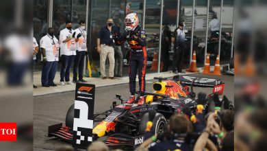 F1: Verstappen wins from pole at Abu Dhabi GP | Racing News - Times of India