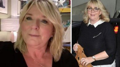 Fern Britton inundated with replies after 'stressed and depressed' post about health woes